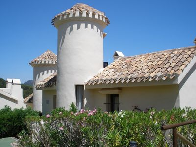 Photo for Stylishly furnished 2 bedroom/2 bathroom villa with spectacular views