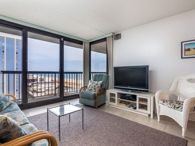 Photo for Oceanfront Condo (Side) in N. Ocean City - Pools, Tennis, Game Room