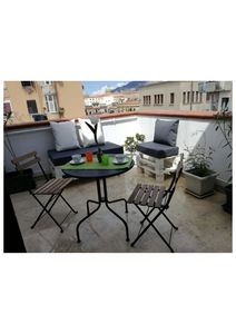 Photo for APARTMENT HISTORIC CENTER OF PALERMO WITH LIVING TERRACE