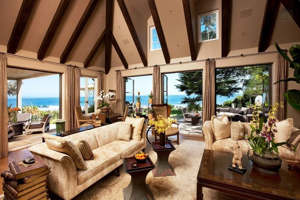 possibly the most luxurious beachfront home in montecito montecito beach estate - Inside Luxury Beach Homes