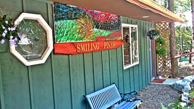 Photo for Smiling Pine B&B. Secluded setting in beautiful Eureka Springs!