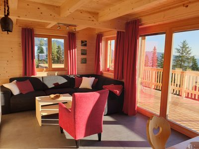 Photo for Luxurious holiday home with sauna, directly on the ski slope