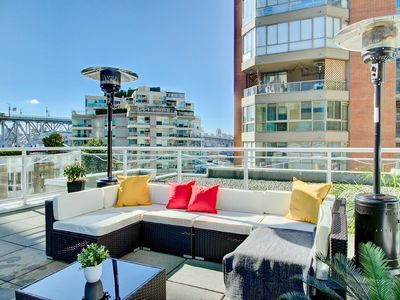 Photo for Luxury Vancouver 3 bedroom Suite with 650sqft private patio