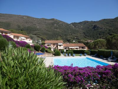 Photo for 2 bedroom Apartment, sleeps 5 in Nisporto with Pool