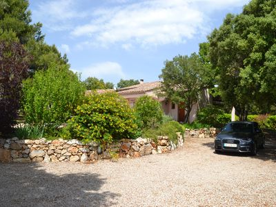 Photo for A spacious and peaceful villa ideally located between sea and mountains