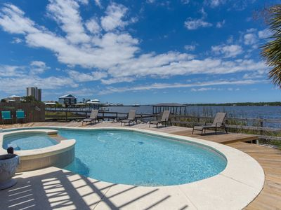Photo for Beautiful Lagoon Front Home, Private Pool, Quick online booking for activities!