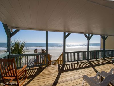 Photo for Sandy Bay, Oceanfront 4 Bedroom House with Free Water Park, Aquarium, Golf & More Every Day!