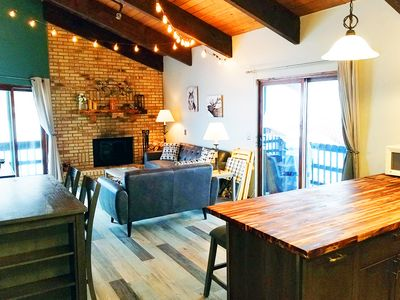 Photo for Newly Remodeled Condo Steps from the West Wall Lift! Private Entrance, Decks,BBQ