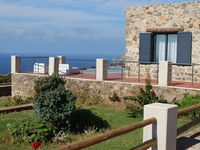 A lovely villa perched on the hills over-looking the sea on the west coast of Crete