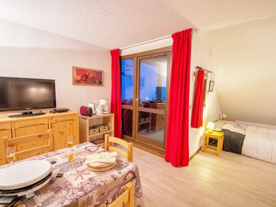 Photo for 1BR Apartment Vacation Rental in Les deux alpes