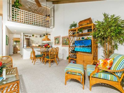 Photo for Bright and open two bedroom condo at Maui Kamaole, Sleeps 6. D-211