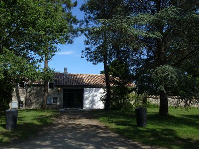 Photo for Self catered converted barn with heated pool in beautiful South Quercy
