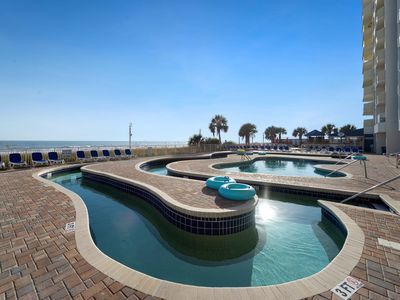 Photo for Perfect for a couples getawat! With alot of oceanfront water amenities