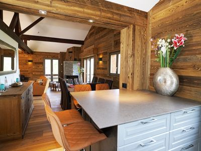 Photo for Luxury chalet in La Tzoumaz (part of Verbier 4 Vallées). Sleeps up to 10