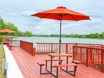 Photo for The Red Dock Retreat On Medina Lake