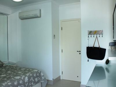 Photo for APt 160m from the beach, 3 bedrooms, recreation area, 2 parking spaces