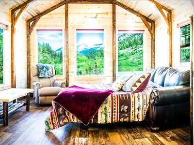 Photo for ***Fisher Cabin in the Crazy Mountains!!! Cozy and Secluded, Hot Tub Coming Soon!***
