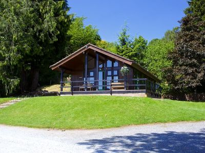 Photo for Bell Rock - Beautiful Lodge On The Shores Of Lochtay, Perthshire.