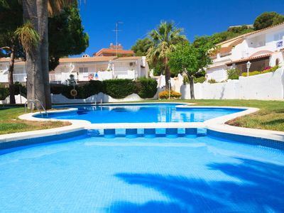 Photo for COSY APARTMENT WITH SWIMMING POOL IN A QUIET AREA OF SALOU S104-121 CASAS BLANCAS