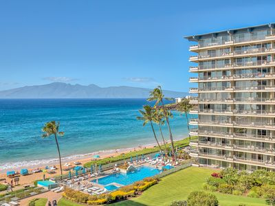 Photo for Million Dollar Views Oceanfront Studio at The Whaler on Ka'anapali