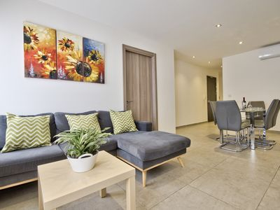 Photo for Minutes off the Strand Gzira 3-bedroom Apartment