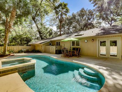 Photo for 12 Deer Run - Private beach retreat in the heart of Sea Pines!