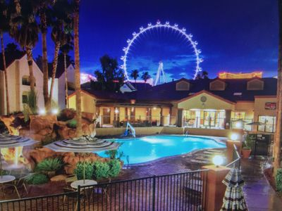 Photo for 2BD/2BA Sleeps 6 Vegas Condo
