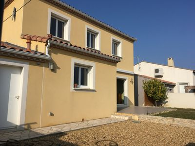 Photo for Family house in a town on the coast of Montpellier