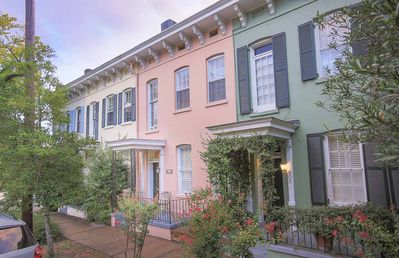 Photo for Stay with Lucky Savannah: Two Story Row Home with Exposed Brick and Courtyard