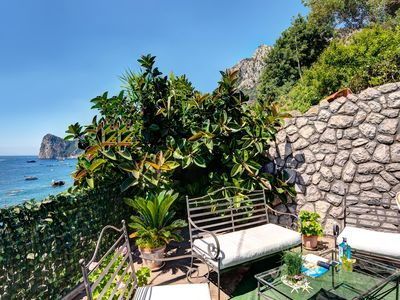 Photo for Ginestra Bianca - The perfect beachfront lodge
