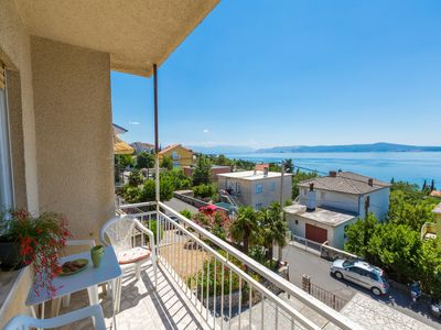Photo for Holiday apartment Balcony and sea view