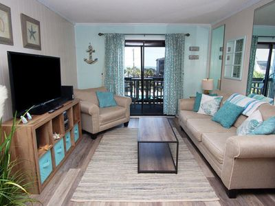 Photo for Sea Cabin 243 - Oceanview 2 Bedroom Condo with Private Pier and Outdoor Pool