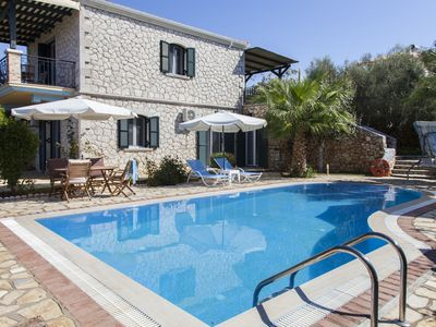 Photo for Family Villa Aliki With Pool & Magical Sunset Now With -20% For Early July Dates