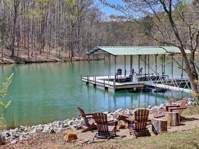 Photo for Lake Front on Private Cove with Short Drive to Clemson