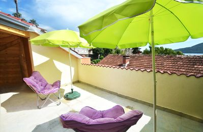 Photo for Brand New Roof Terrace Apartment with views of Fortress Mare and harbour