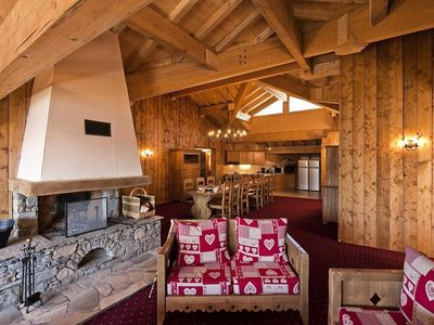 Photo for Residence Chalet Le Refuge **** - 12/14 Persons 7 Rooms