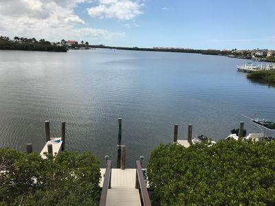 Photo for 3 Bedroom, 2 Full Baths - waterfront Condo - walk to beach and restaurants