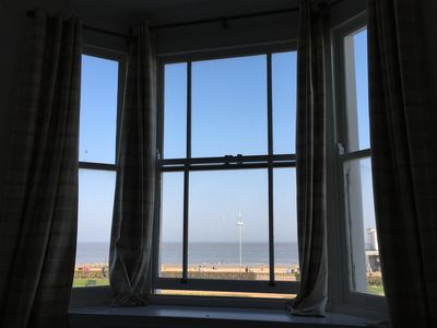 Photo for Moray Seaview is a Suffolk coast beach apartment with uninterrupted seaviews