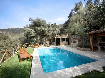 Photo for Small Villa with Pool and Mountain View - Villa S'olivaret