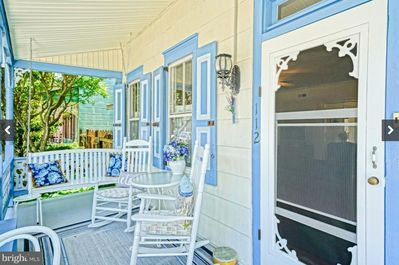 Neighborly Front Porch