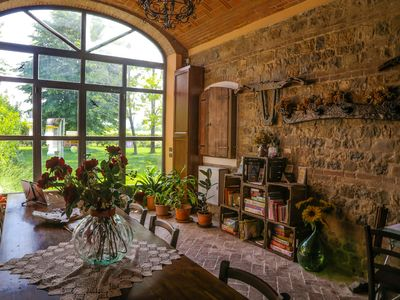 Photo for Agriturismo Il Brugnolo studio with park view