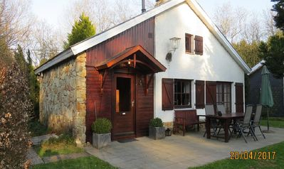 Photo for Charming and cozy Chalet in a prime location in the Ardennes.