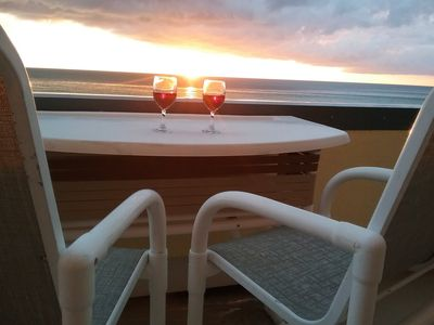 Photo for Unit 206: Renovated Beach Condo in Paradise: Huge Balcony, Spectacular Sunsets