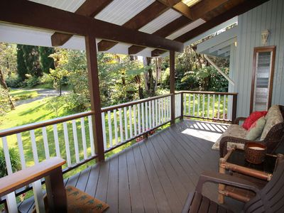 Photo for Volcano Villa - Cozy & Private Hide-Away, 2 minutes to Volcanoes National Park