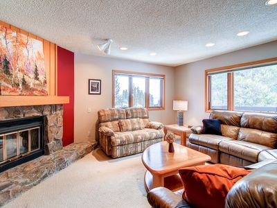 Photo for 7th Night Free! Bright Living Area with Forest Views, Garage Parking, Wi-Fi