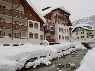 Photo for Apartment, 300m to the ski slope, everything on site, gr. Recreational Winter + Summer