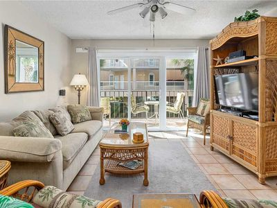 Photo for Oceanfront Condo at St. Simons Beach Club! Pool, Beach Access, Fitness Center, Tennis