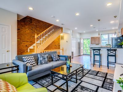 Photo for ★Gorgeous Rowhome★ Perfect Location|Steps to Metro
