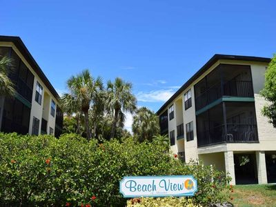 Photo for 2BR 2BA Steps from Beach with Heated Pool, Two Lanais, WIFI and Pack N Play