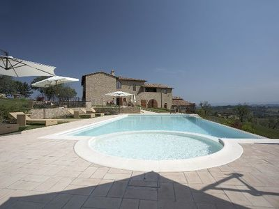 Photo for Four Bedroom Split Level Apartment San Gimignano   Tolly 1 is a delightful apartment on a lovely wine